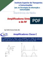 Aula 3 - Amplificadores Sintonizados e de RF