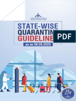 State Wise Quarantine Guidelines