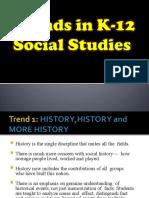 trends in K-12 Social Studies
