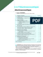 Introduction electroacoustique
