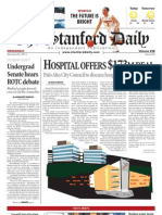 The Stanford Daily, Jan. 26, 2011