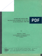 Grains and Radicalism - The Political Economy of the Rice Industry in the Philippines, 1965-1985