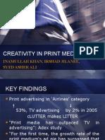 CREATIVITY IN PRINT MEDIA.ppt