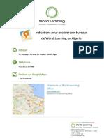 Indications pour accéder aux bureaux de World Learning en Algérie.pdf
