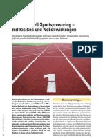 Artikel Jahrbuch Sponsoring