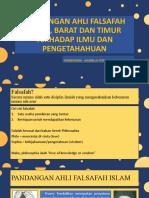 PANDANGAN AHLI FALSAFAH ISLAM, BARAT DAN TIMUR EDUP3013.pptx