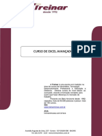 Apostila Excel Avançado 2013 Dafne - Atualizada Em Set. 2015