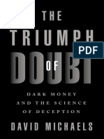 David Michaels - The Triumph of Doubt_ Dark Money and the Science of Deception-Oxford University Press, USA (2020).epub