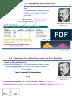 Compuestos coordinación (ISOMERÍA)