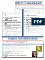 passive with reporting verbs2