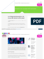 MAGNETOTERAPIA PER L'ARTROSI ED ALTRO-IMP.SSIM BEST BEST