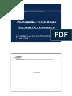 Procese mecanice de baza (DE)