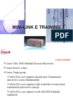 PDH Mini link presentation