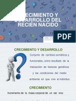 CRECIMIENTO Y DESARROLLO DEL RN