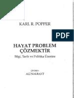 33400503 Bilgi Tarih Ve Politika Uzerine Hayat Problem Cozmektir Karl R Popper