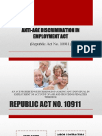ANTI-AGE DISCRIMINATION IN EMPLOYMENT ACT