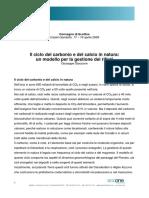 Giaccone_ciclo_carbonio_calcio_modello_gestione_rifiuti