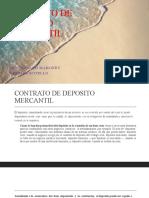 CONTRATO DE DEPOSITO MERCANTIL