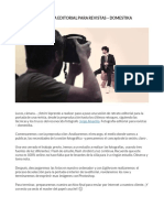 FOTOGRAFÍA EDITORIAL PARA REVISTAS – DOMESTIKA