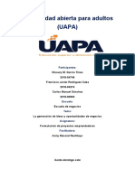 ACT. 2 formulacion de proyectos emprendedores