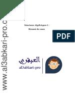 Structures Algébriques 1 Résumé de Cours