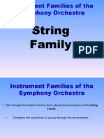 String Family PPT