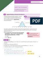 Edexcel Statistics Mechanics (Year 2) Binomial distribution