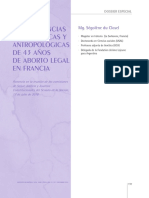 Socio y Antro en Aborto Legal