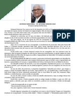 Breve Histórico do Pr. Natanael Cruz em 2020
