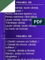 07 PSALMUL 150