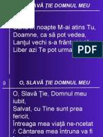 09 O, SLAVA TIE, DOMNUL MEU IUBIT