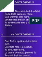 10 VOI CANTA DOMNULUI
