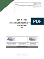 95 - 98 - 103.  PLAN ANUAL DE SSOMA