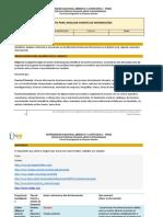 Formato Análisis de Fuentes de Información