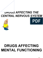 drug of the central nervous system