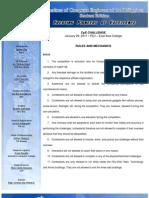 CpE Challenge - Rules and Mechanics