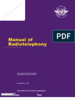 Doc 9432 - Manual of radiotelephony