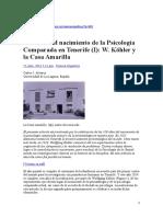 100 Años Nacimiento Psi. Comparada - Casa Amarilla - Carlos Álvarez