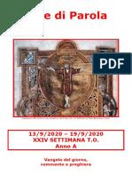 Sete di Parola - XXIV Settimana T.O._A.doc