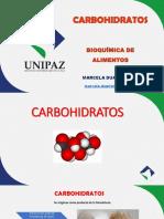 Unidad 3. Carbohidratos