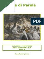 Sete di Parola - XXIII Settimana T.O. - A.doc