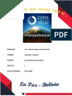 COP 25 resumen