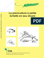 Agrodok 15 - La pisciculture à petite échelle en eau douce(1)