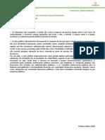 2. Economia A 11 - A intervenção do Estado na economia - Ficha 1 - Soluções
