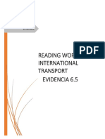 Evidencia 6.5 Reading workshop international transport