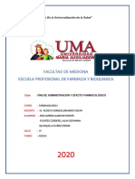 PRACTICA 5 DE FARMACOLOGIA