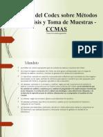 Comité del Codex sobre Métodos de Análisis y