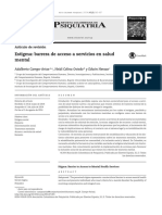 Campo-Arias, A., Oviedo, H. C.,  Herazo, E. (2014). Estigma barrera de acceso a servicios en salud mental.