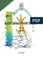 Formato reconocimiento compromiso y dedicación - Primaria