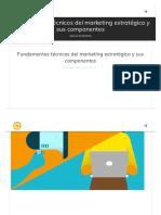 Fundamentos técnicos del marketing estratégico y sus componentes - Art Creativa